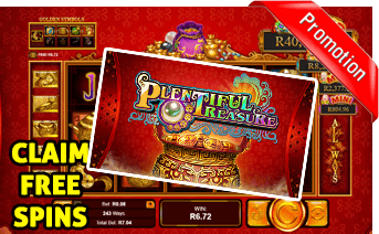 New Plentiful Treasure Slot Play Now With Free Spins Bonuses