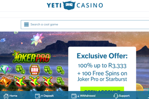 yeti-casino-website-screenshot
